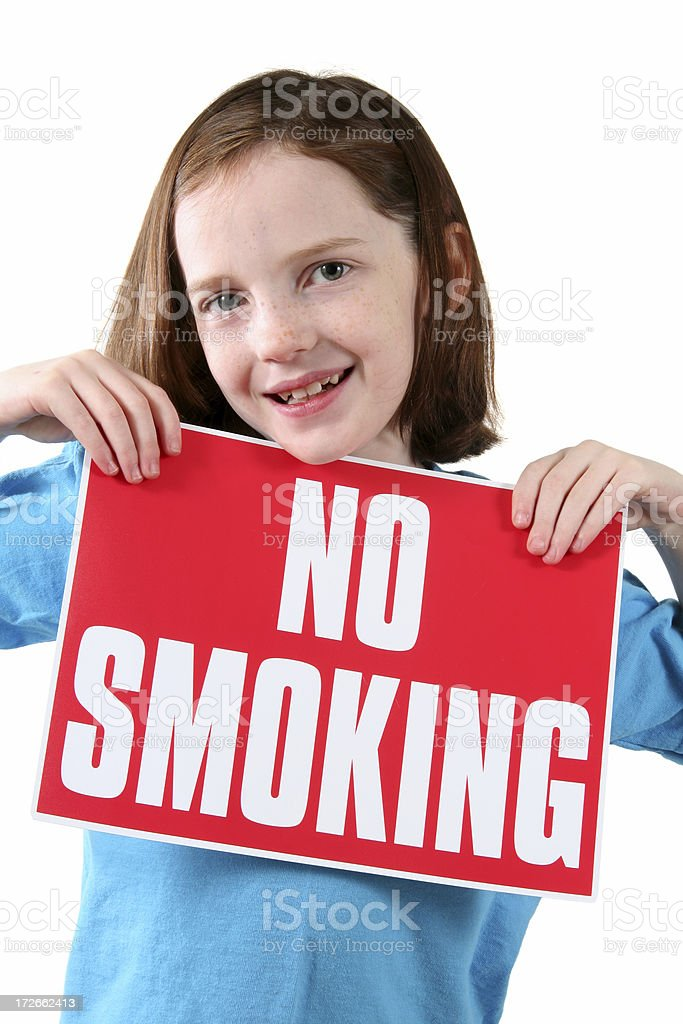 No Smoking, Please! royalty-free stock photo