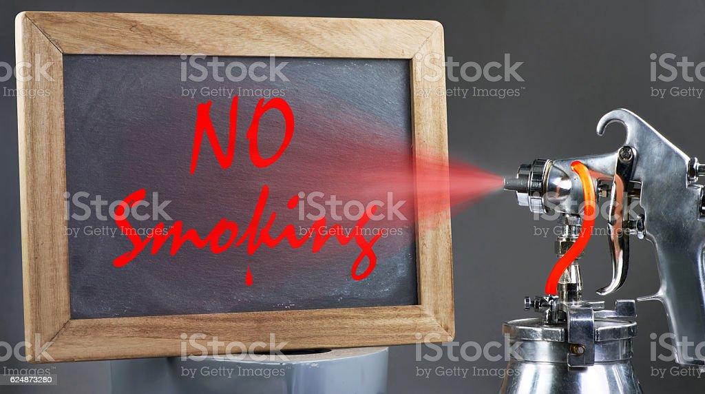 No Smoking Sign. stock photo