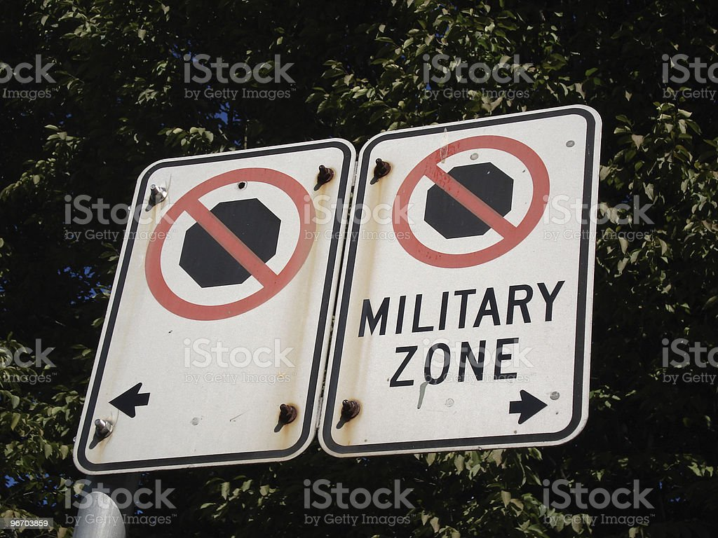 no stop sign royalty-free stock photo