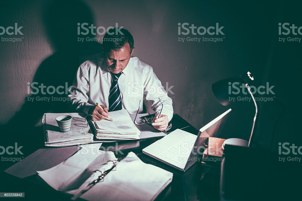 No time for breaks stock photo