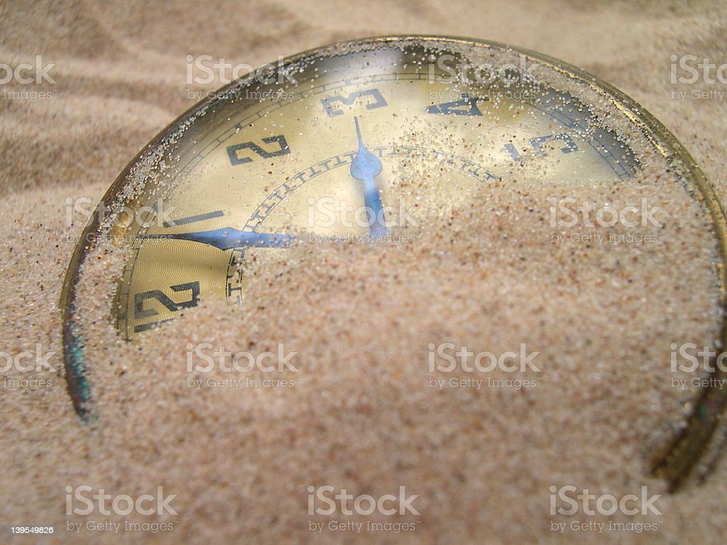 No Time Left 2 royalty-free stock photo