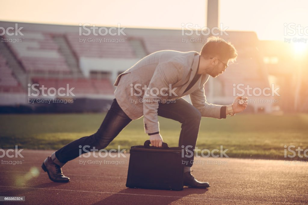 No time to waste stock photo