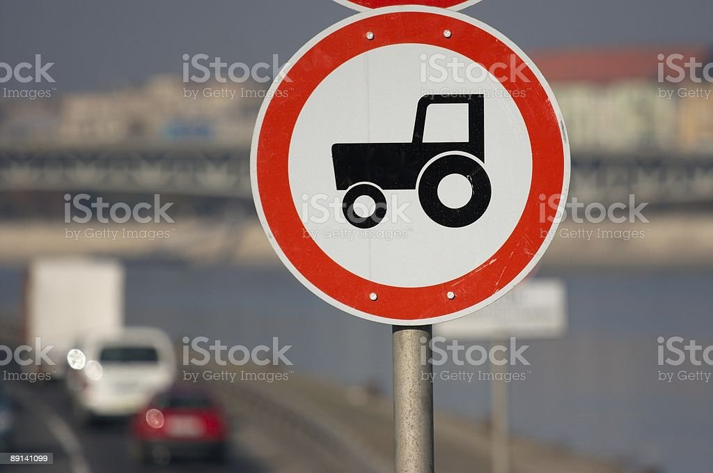 No tractors royalty-free stock photo