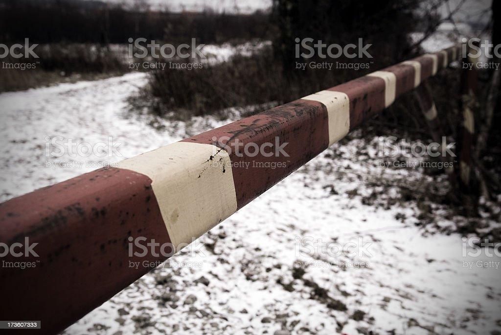 No trespassing! royalty-free stock photo