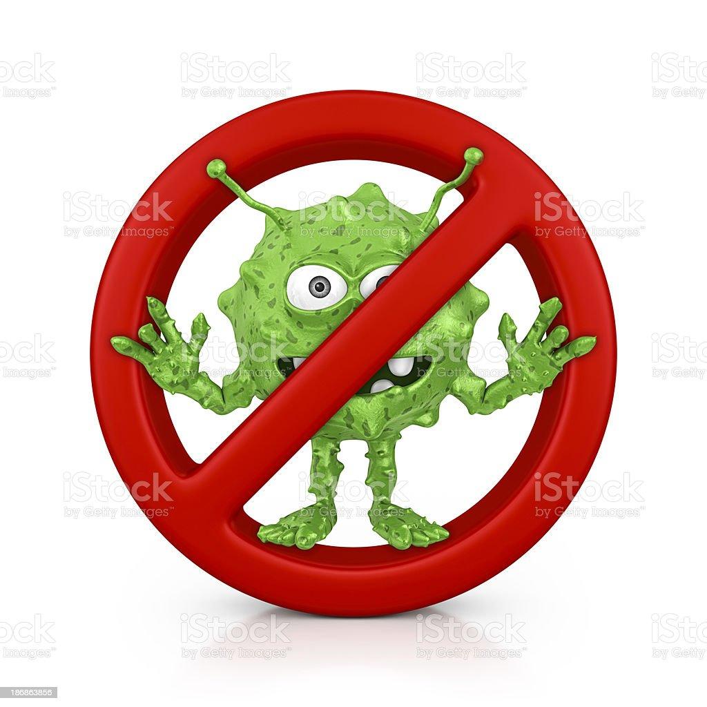 no virus royalty-free stock photo