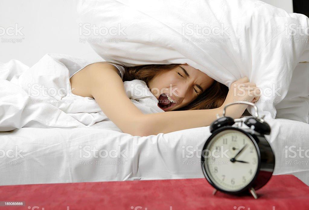 no wake up! royalty-free stock photo