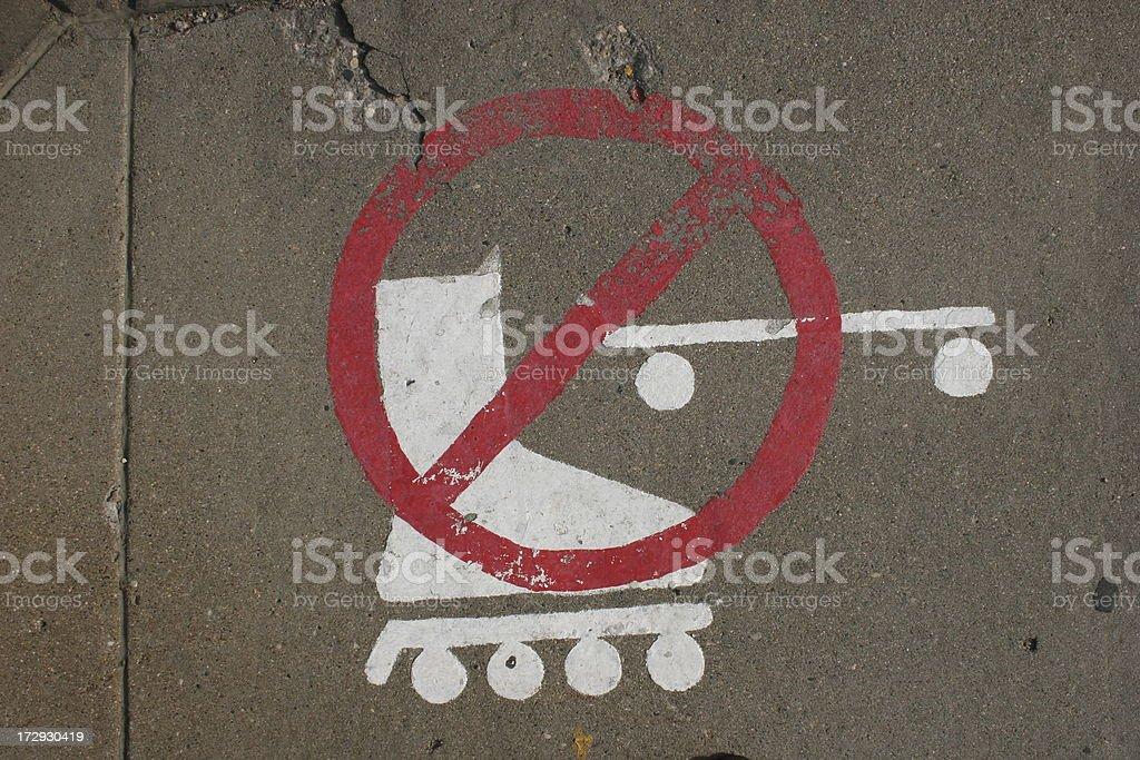 No Wheels stock photo