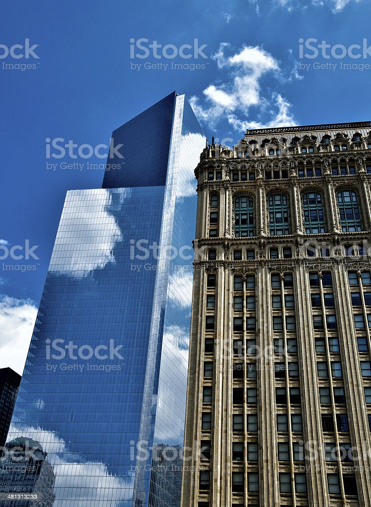 No.4 World Trade Center Cityscape, Lower Manhattan, New York City stock photo