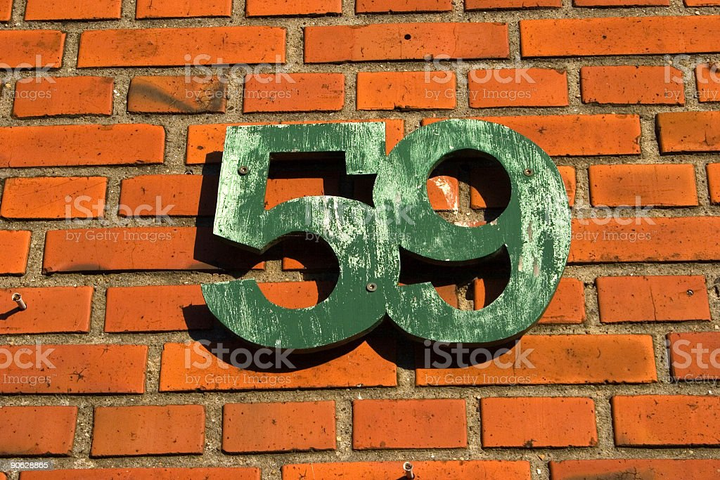 No.59 stock photo