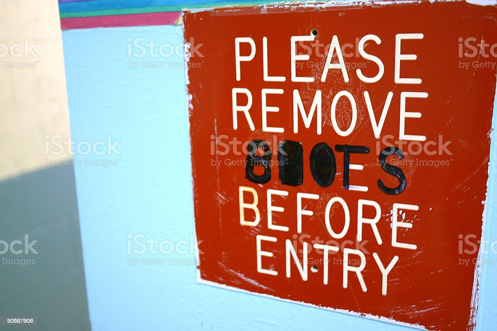 no_shoes_boots stock photo