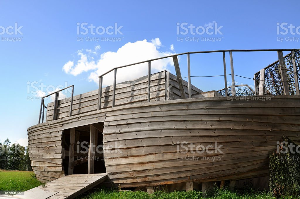 Noah´s Ark stock photo