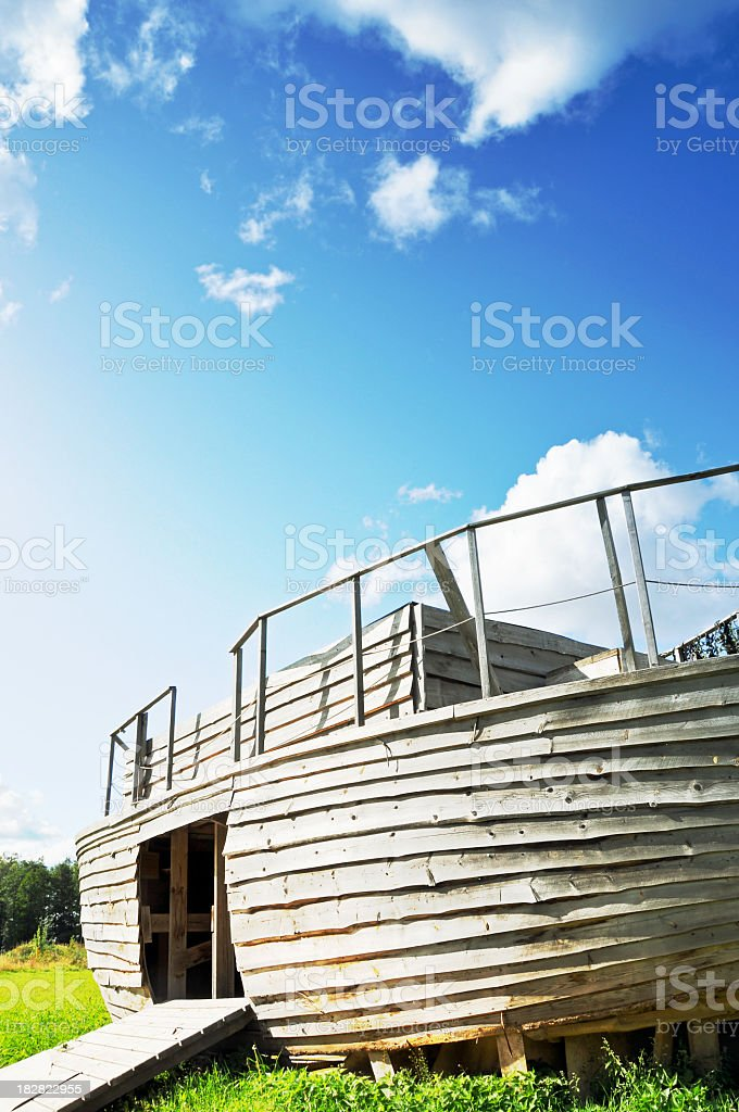Noah´s Ark stock photo
