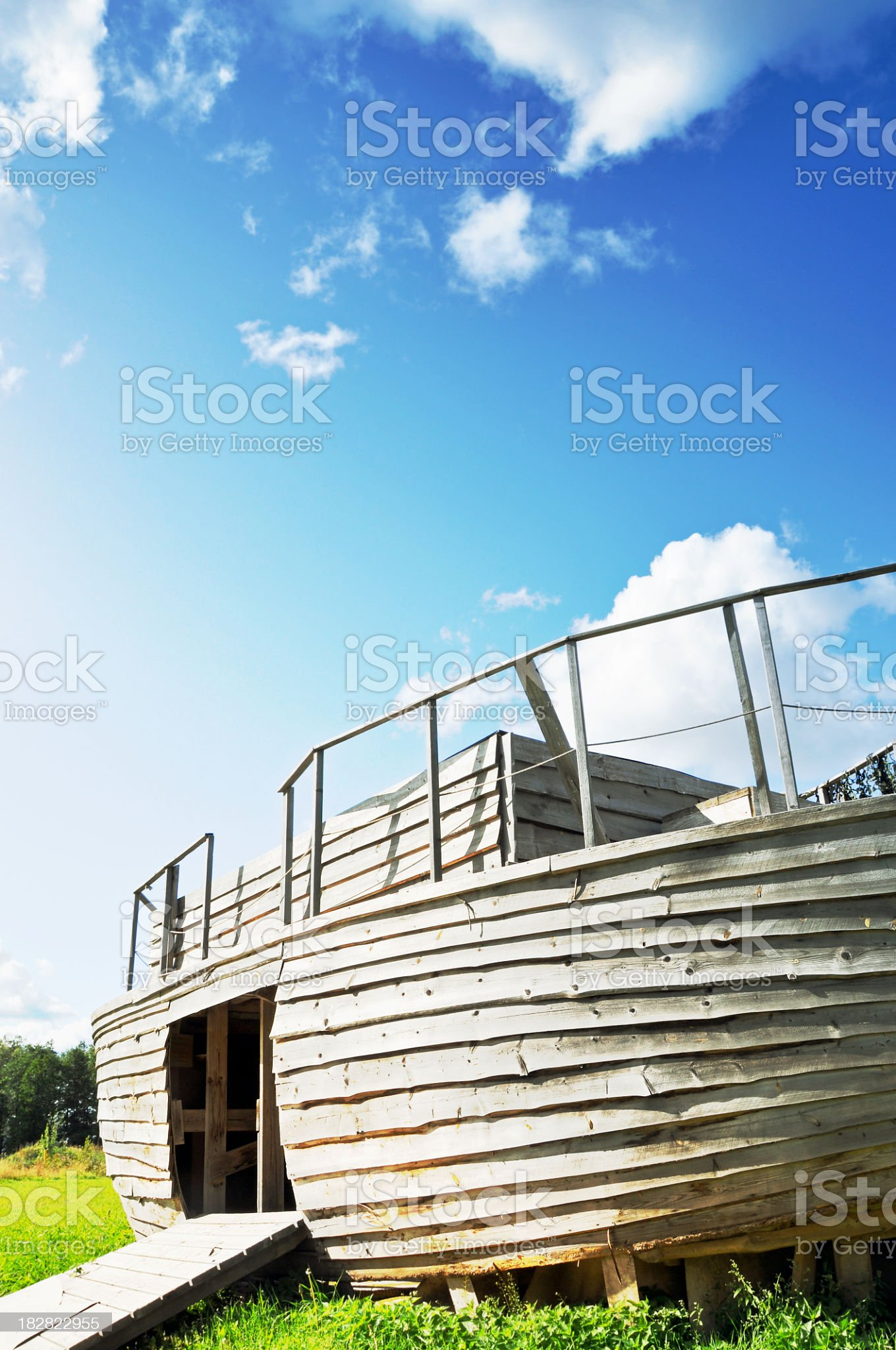 Noah´s Ark royalty-free stock photo