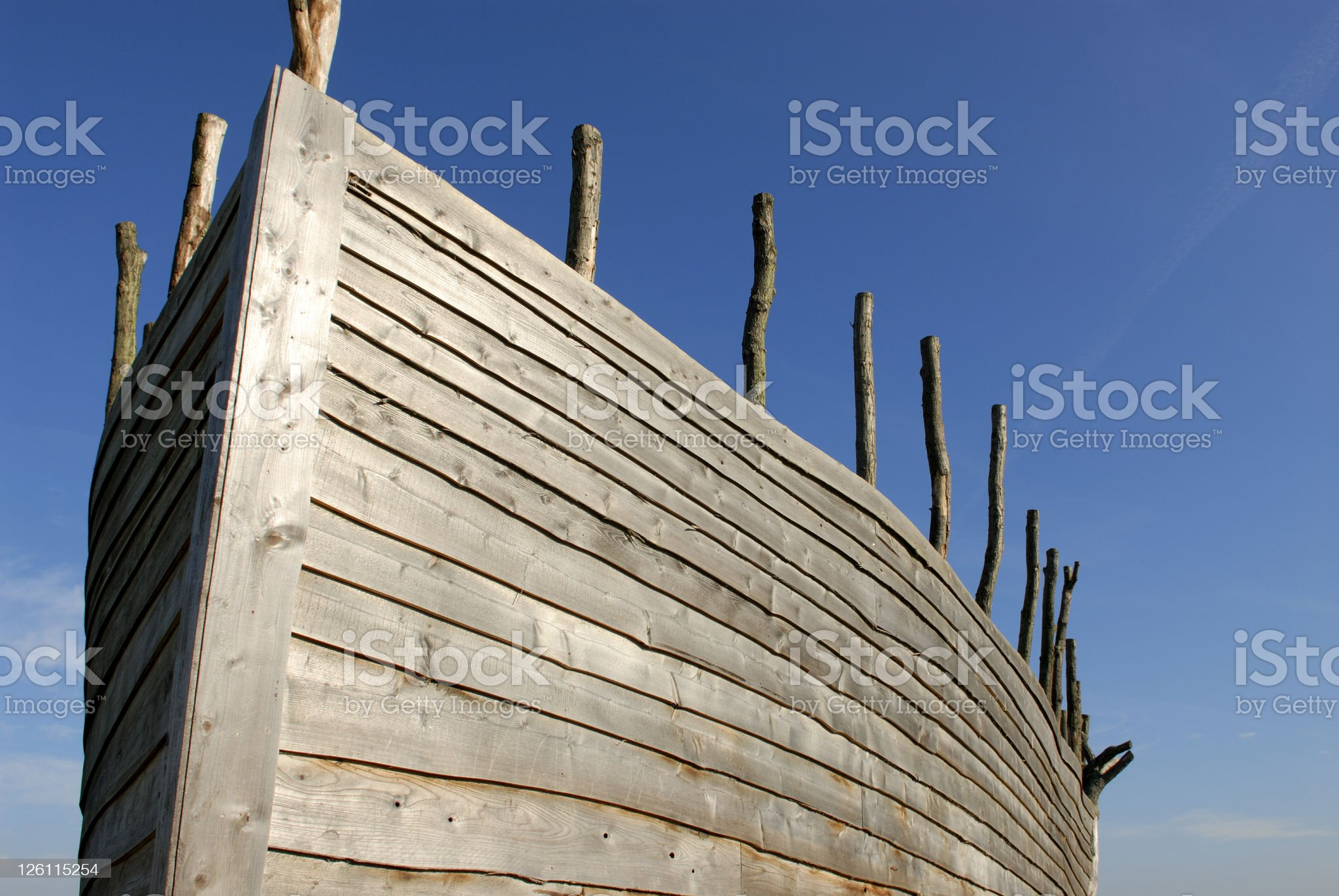 Noah's Ark royalty-free stock photo