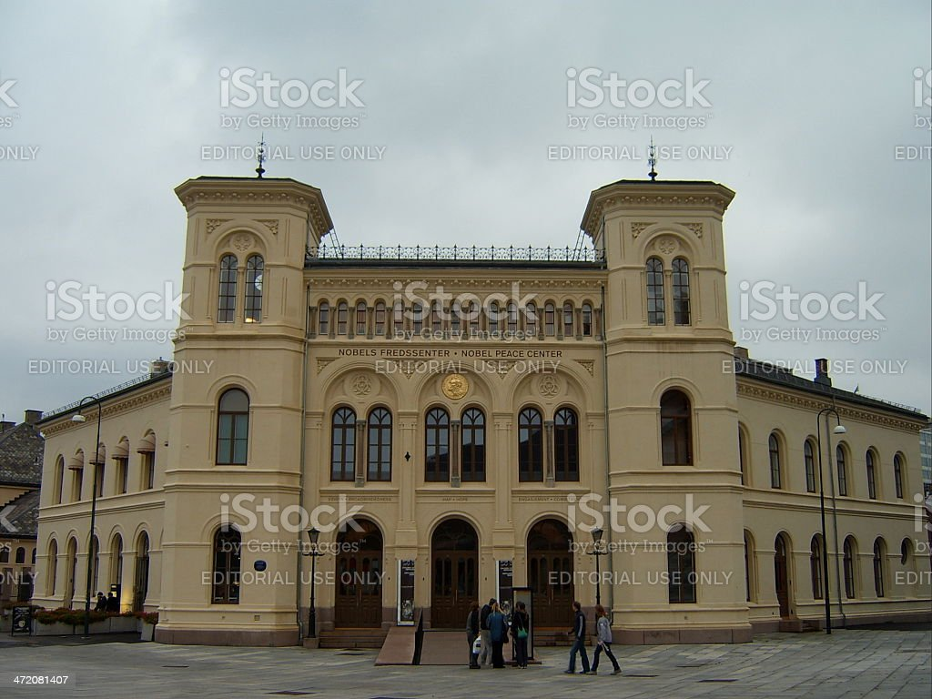Nobel Peace Center stock photo