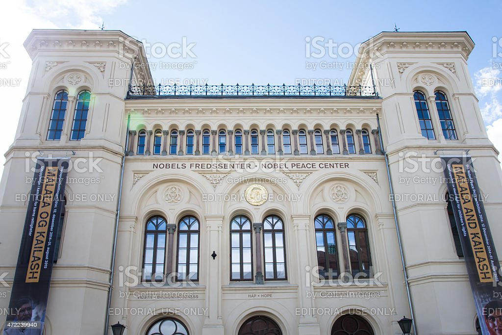 Nobel Peace Center, stock photo