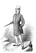 Noble Man Poses - Oscar of Alva
