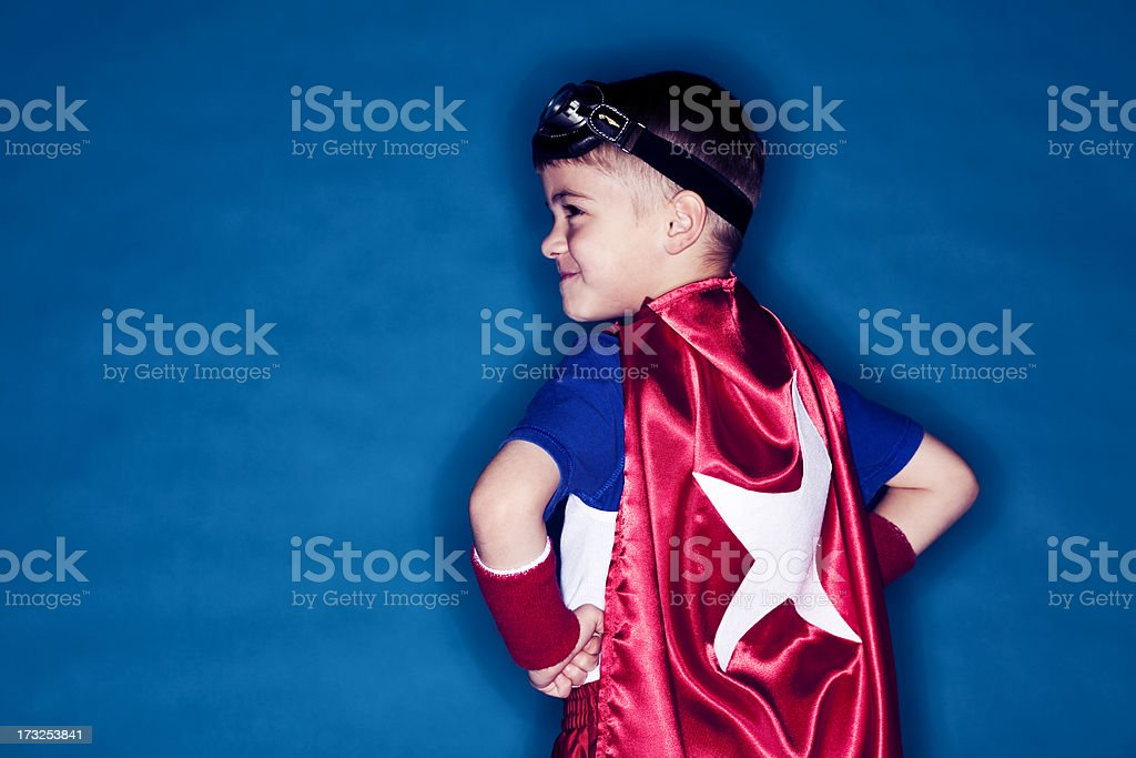 Noble Superhero royalty-free stock photo