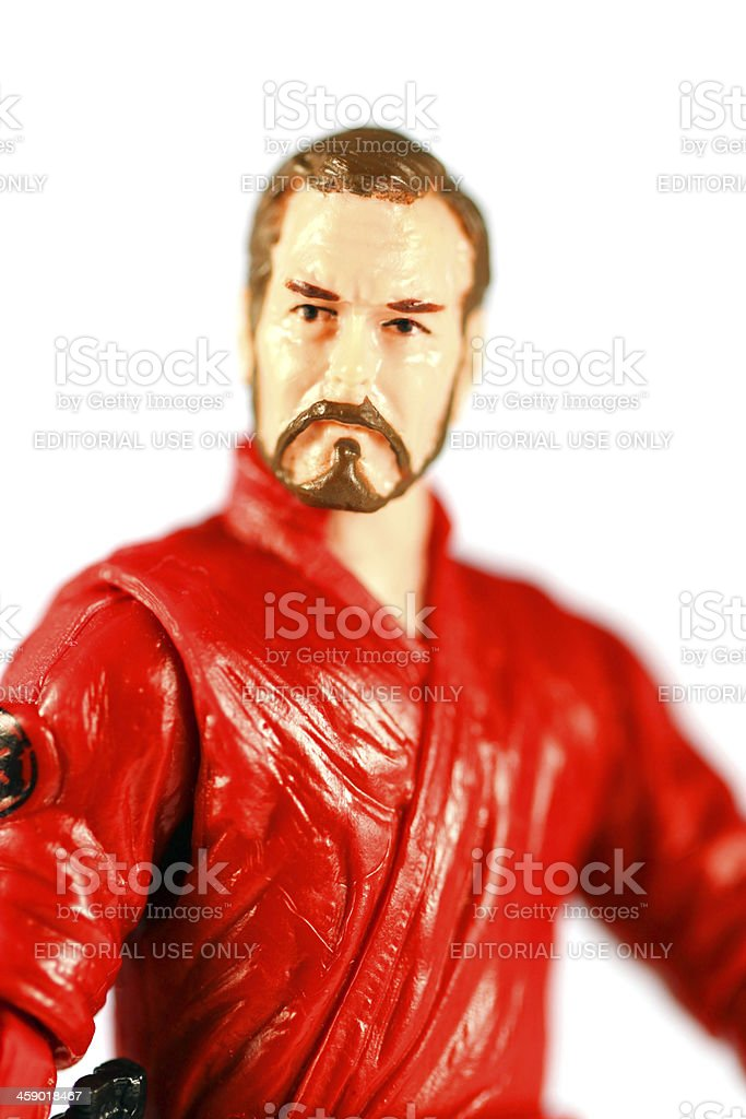 Noble Warrior of the Empire royalty-free stock photo