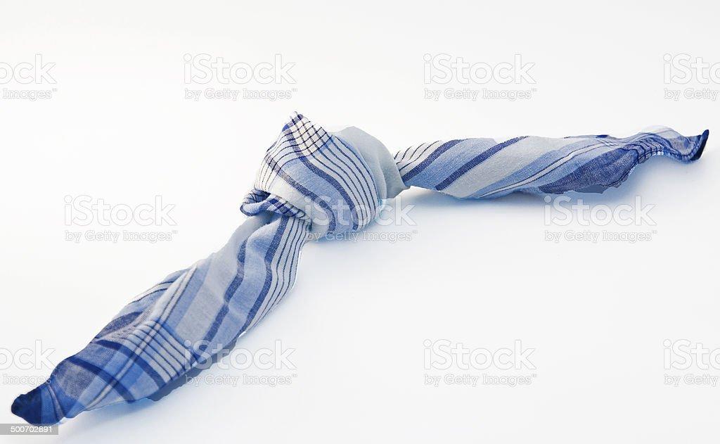 node in the handkerchief stock photo