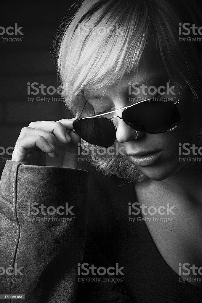 Noir Beauty stock photo