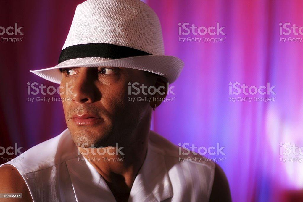 Noir Guy royalty-free stock photo