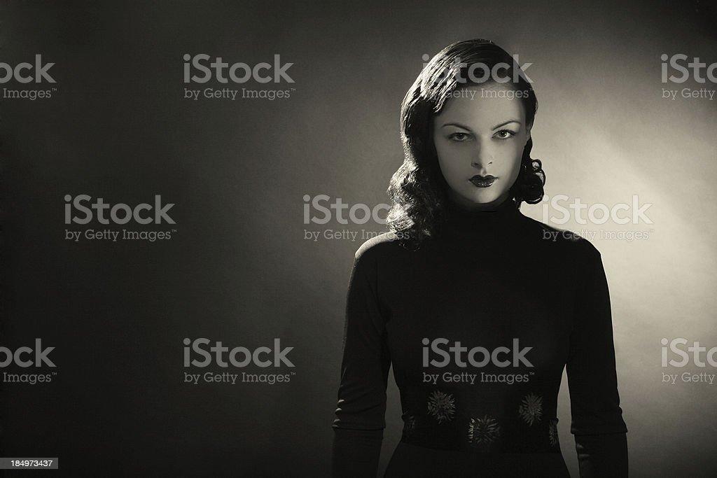Noir. stock photo