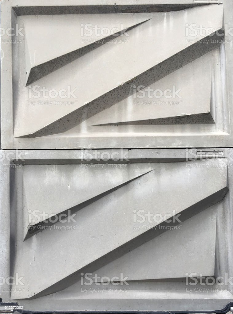 Noise barrier stock photo