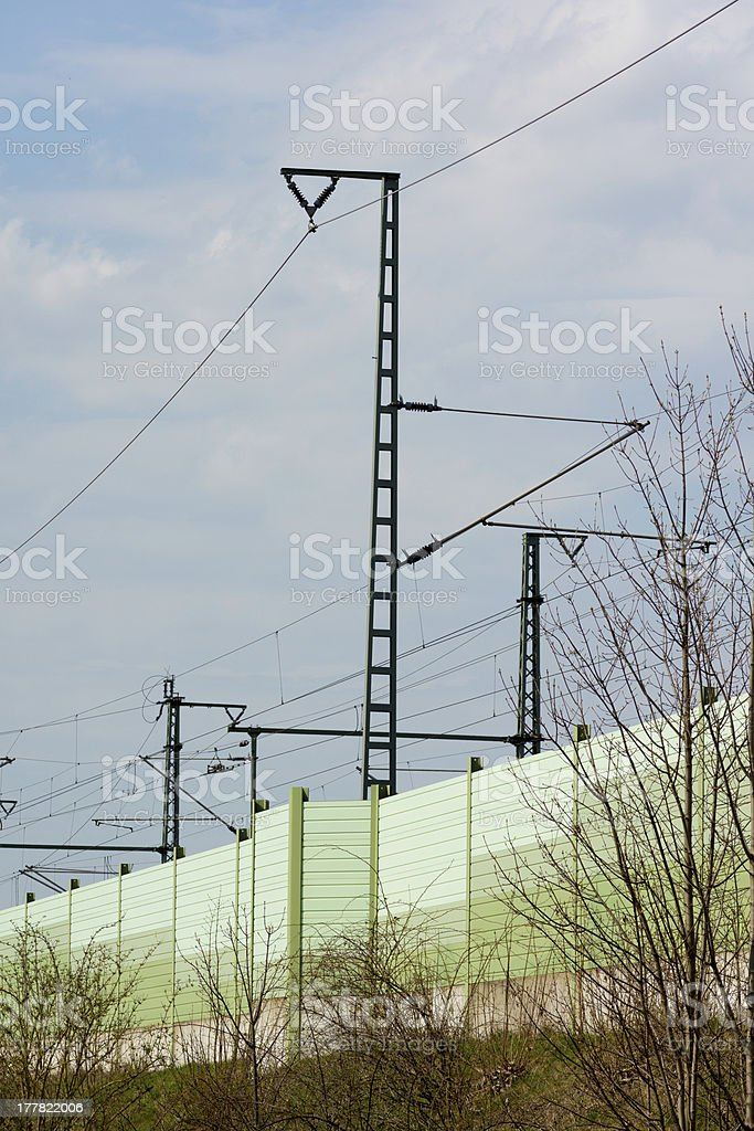 Noise protection stock photo