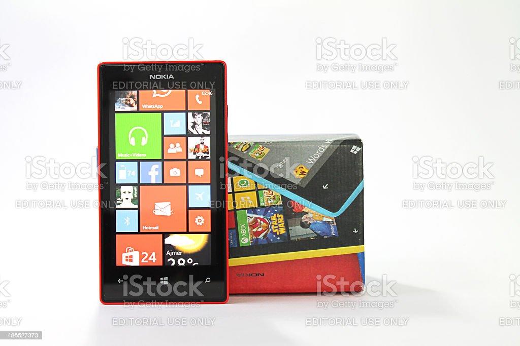 Nokia Lumia 520 stock photo