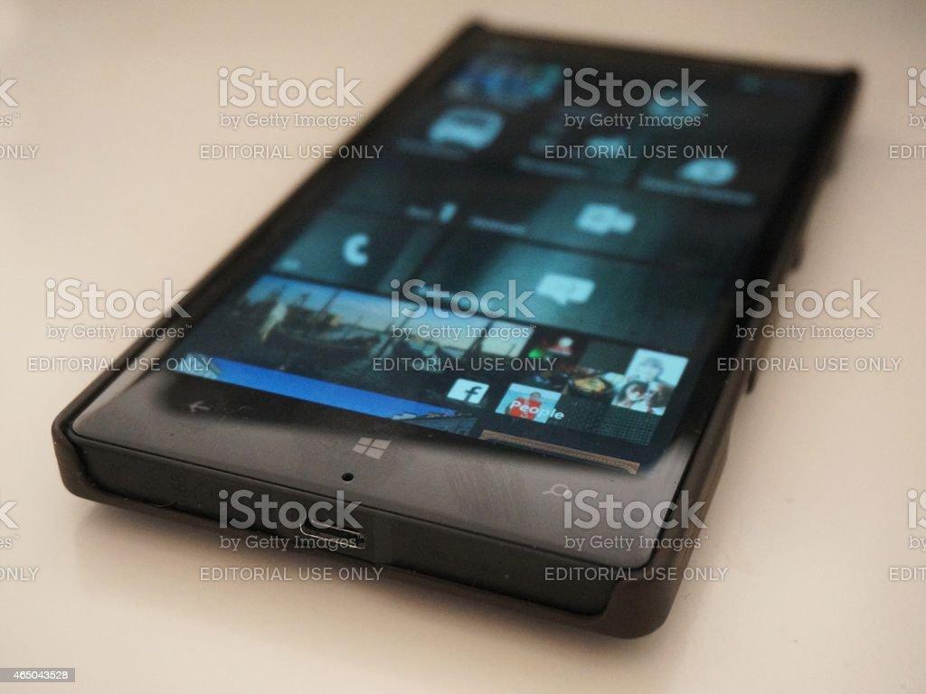 Nokia Lumia 930 smartphone stock photo