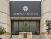 Nolan County Courthouse in Sweetwater, Texas