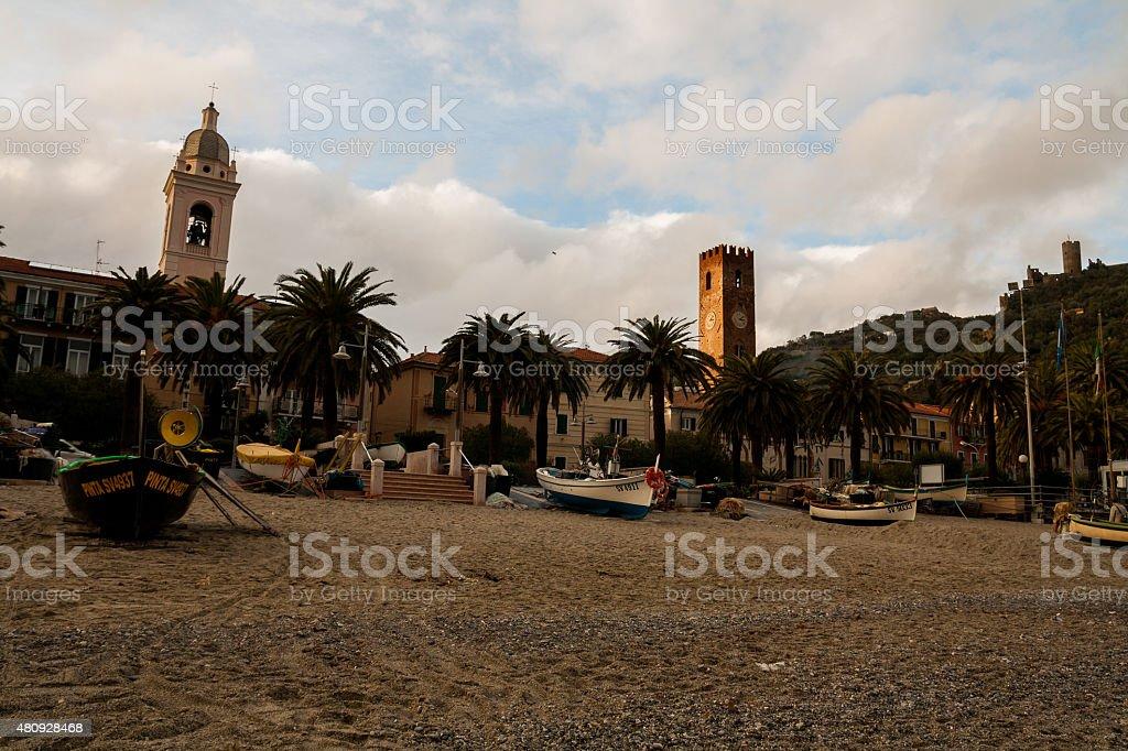 Noli, Savona, Liguria, Italia stock photo