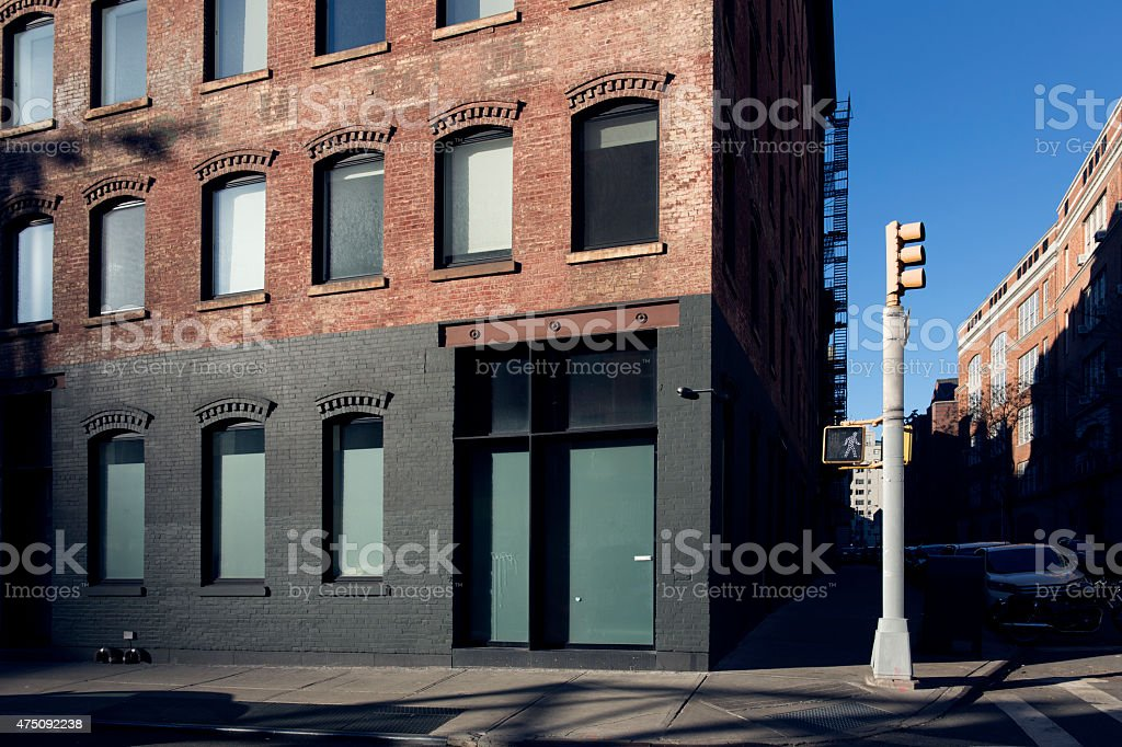 NoLiTa Neighborhood in New York City stock photo