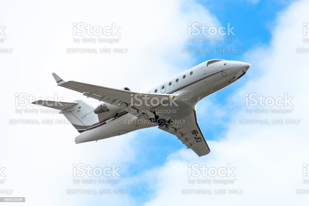Nomad Aviation Bombardier CL-600 stock photo