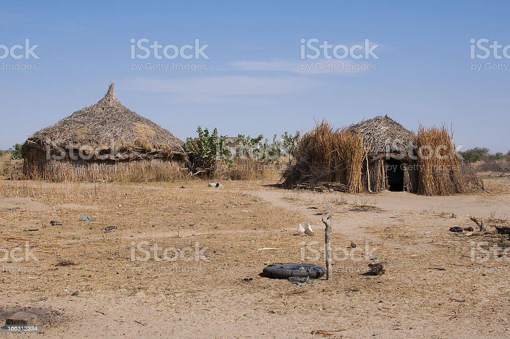 Nomad house royalty-free stock photo