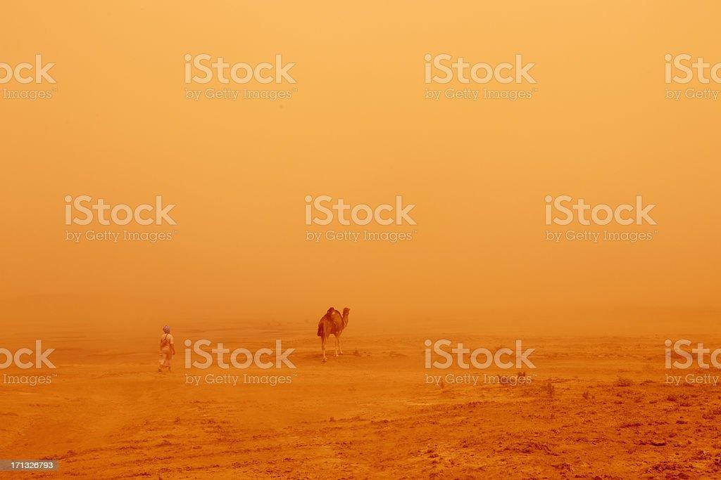 Nomadic People Morocco stock photo