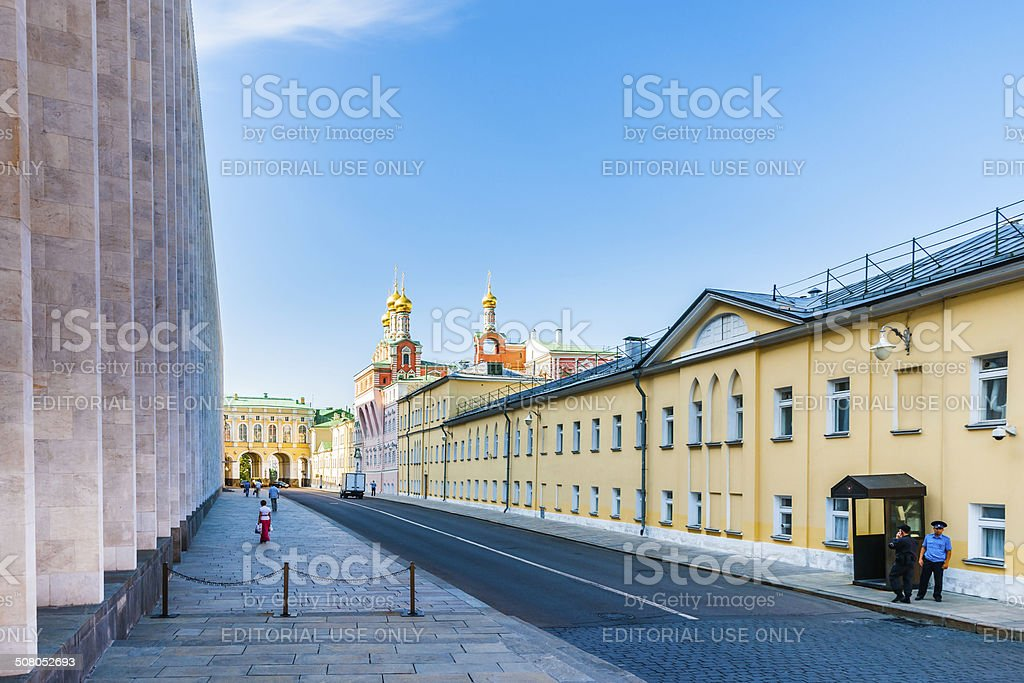 Non public area of the Kremlin stock photo