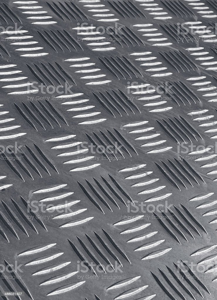 non skid metal flooring royalty-free stock photo