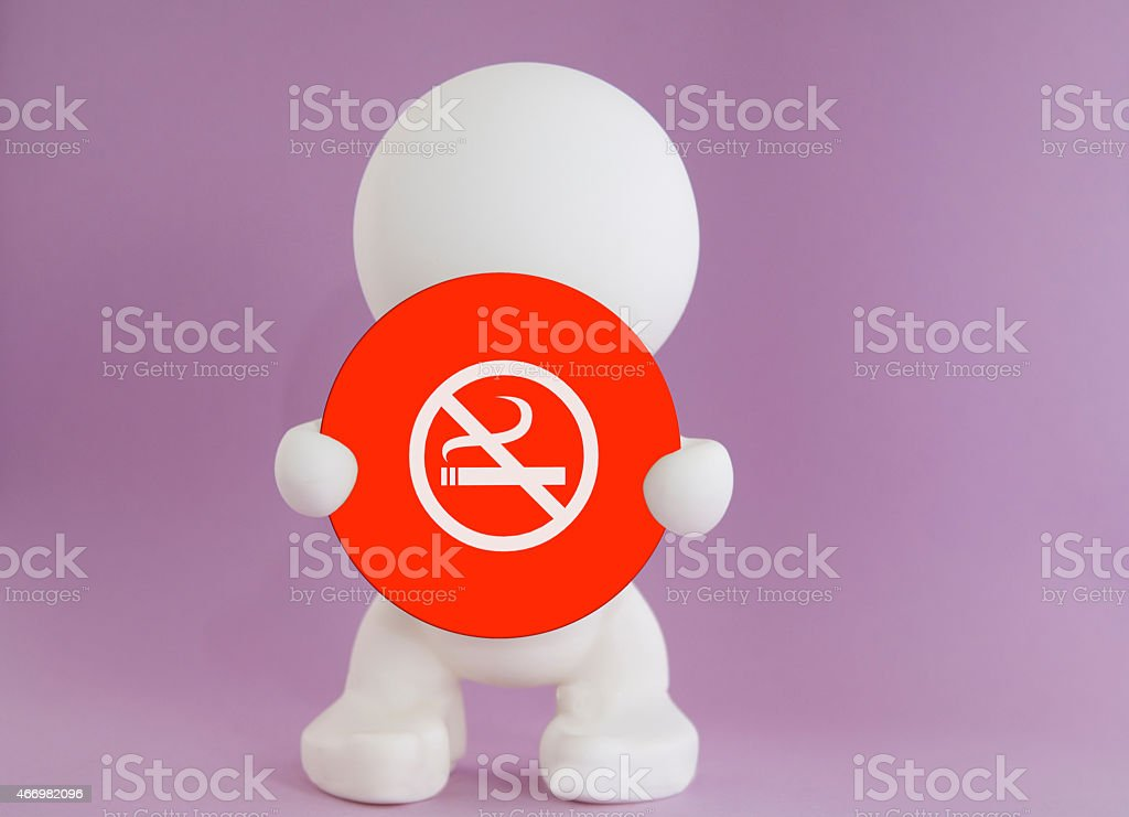 Non smoking - sign stock photo