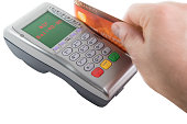 Non Sufficient Funds - Swiping bank card on payment terminal