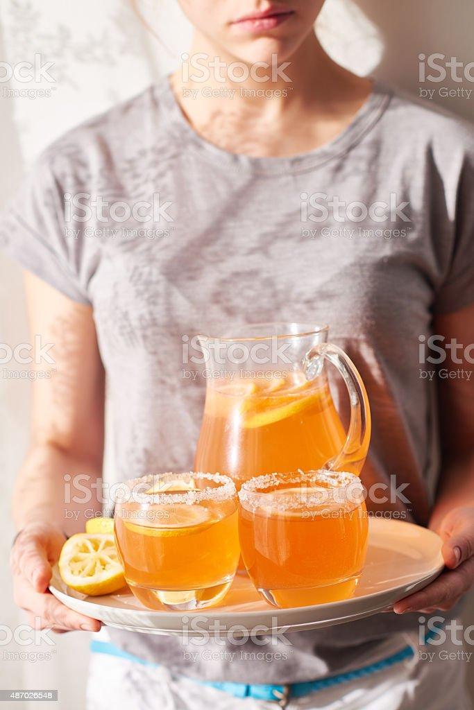 Non-alcohol beverage stock photo