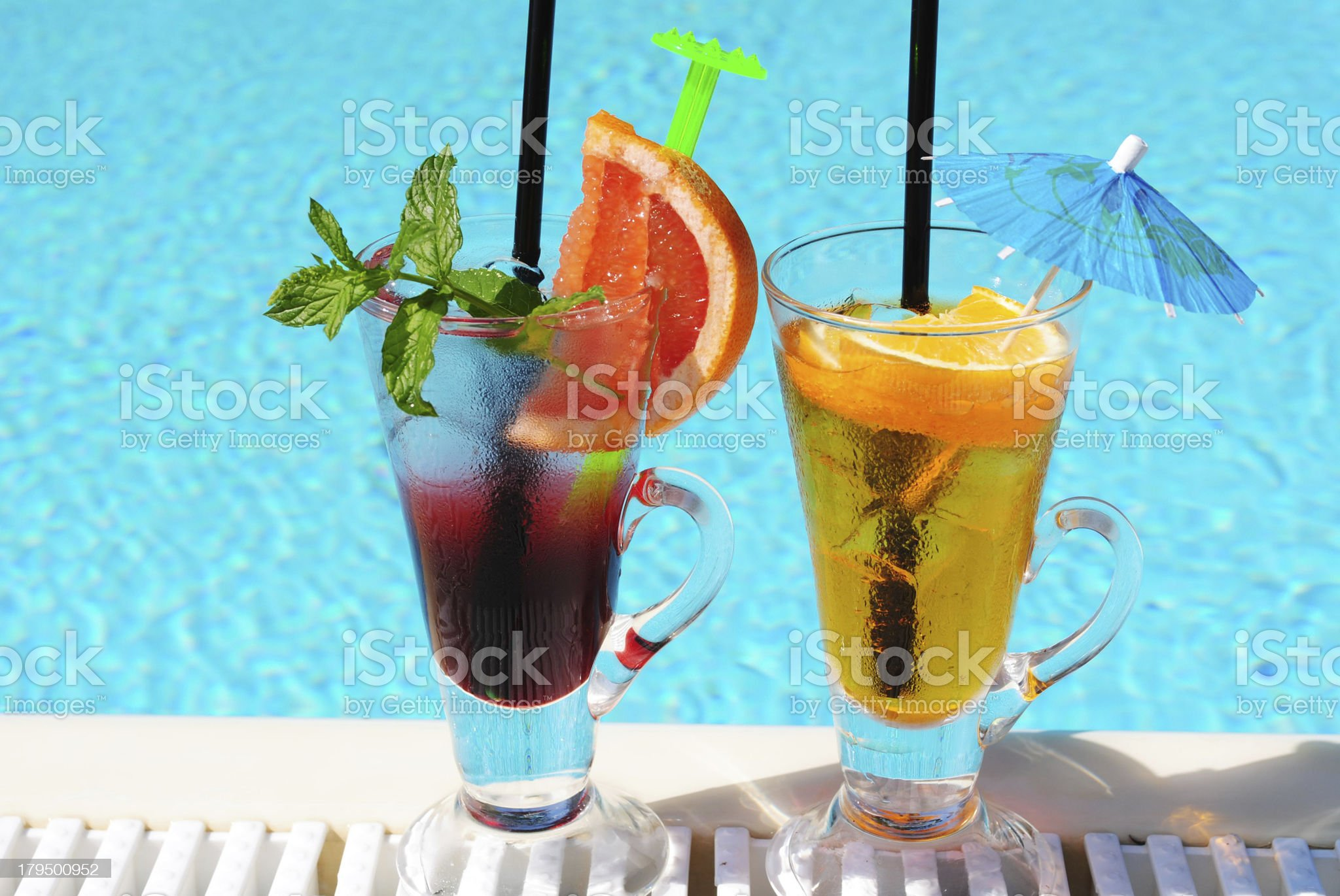 non-alcoholic cocktail royalty-free stock photo