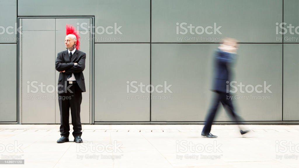 Non-conformist stock photo