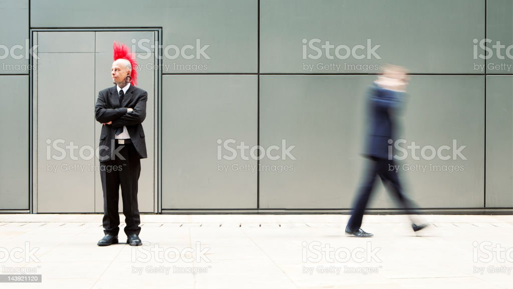 Non-conformist stock photo