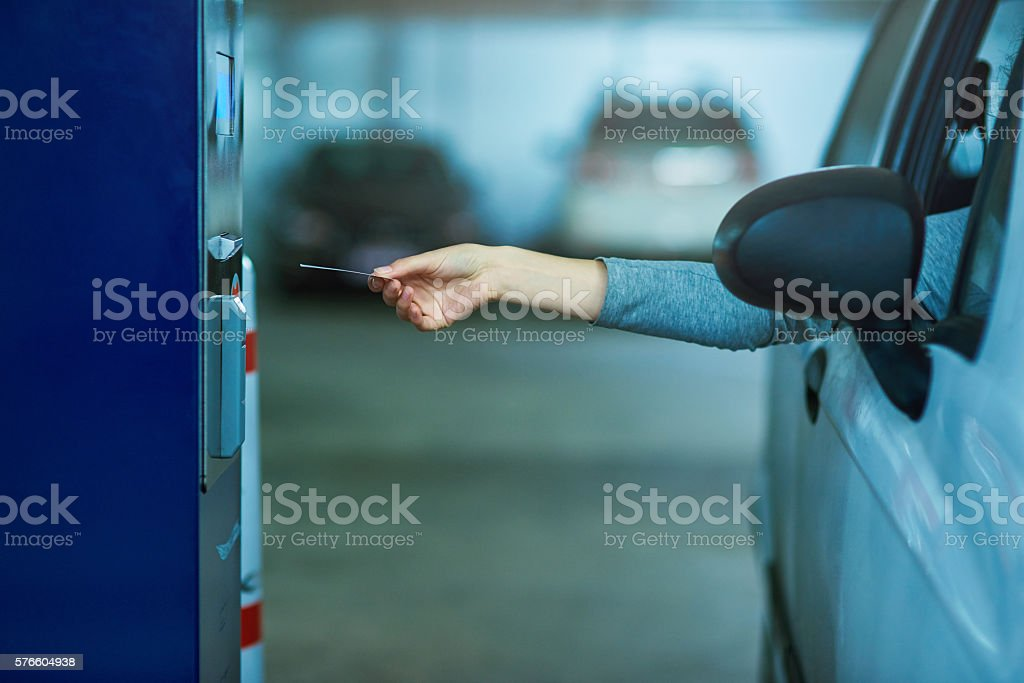 None shall pass unless the toll is paid stock photo