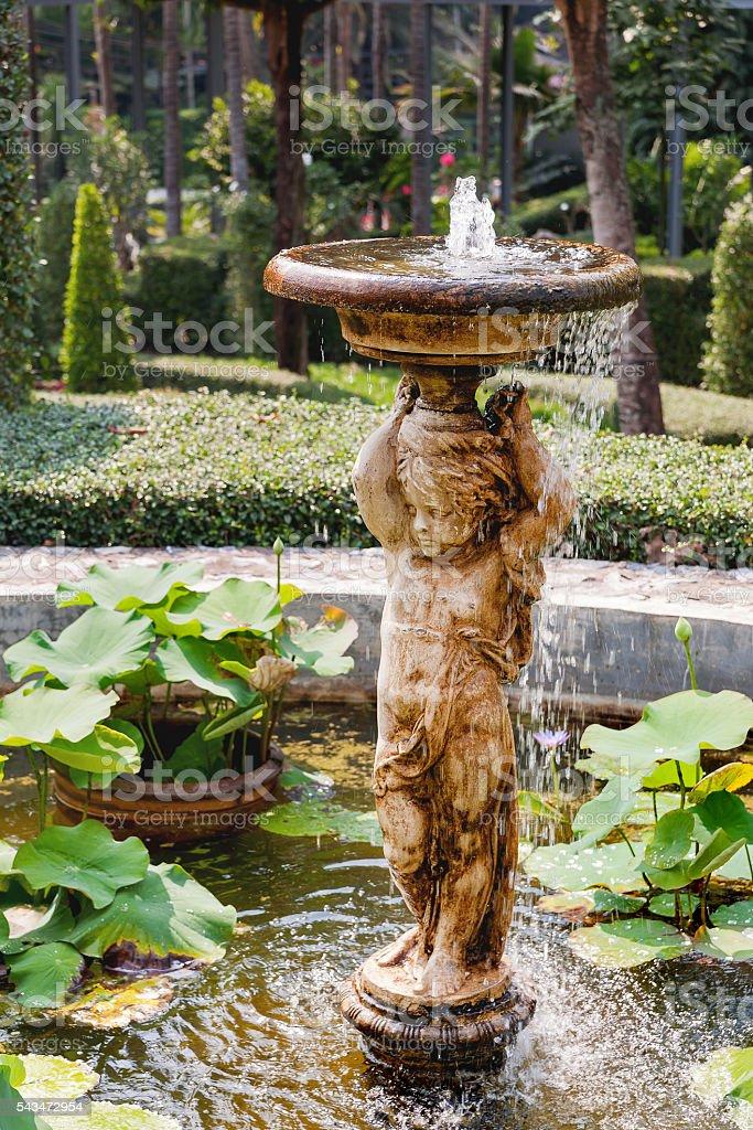Nong Nooch Tropical Garden in Pattaya, Thailand. stock photo