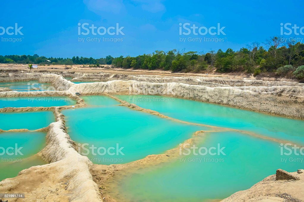 NongLai Grand Canyon, Ubon Ratchathani, Thailand stock photo