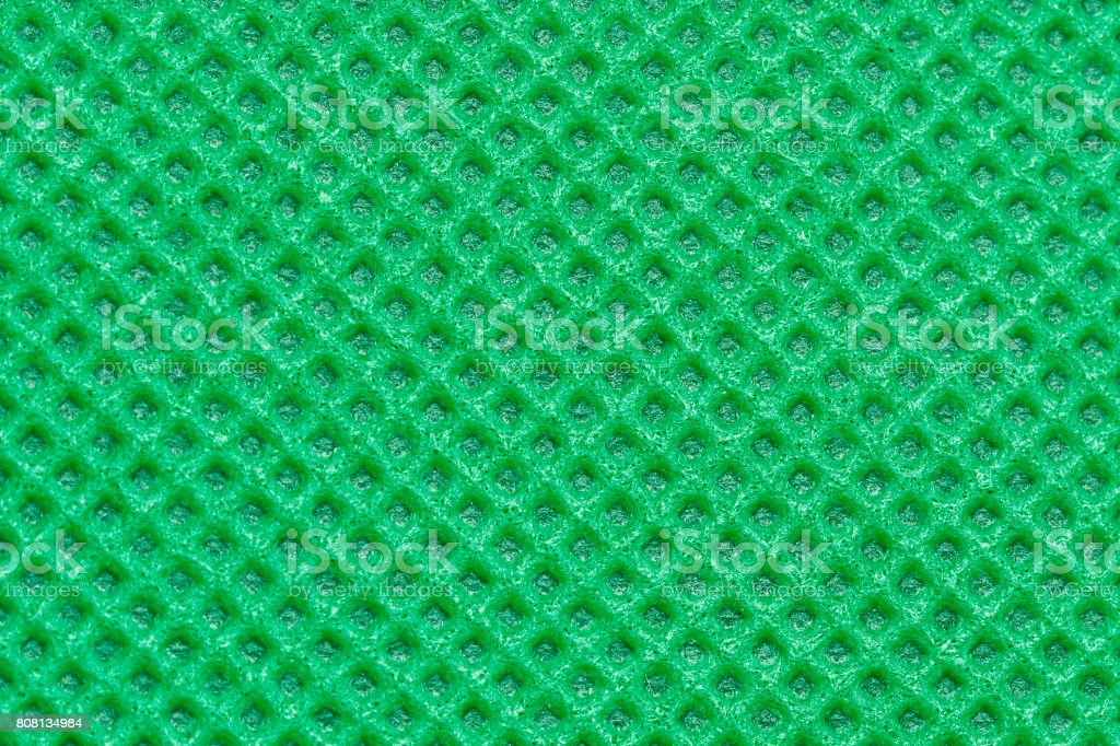 non-woven fabric green color stock photo