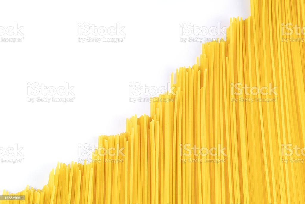 noodle chart royalty-free stock photo